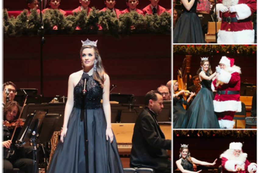 Miss America 2016 Performed in the Philly POPS Christmas ...